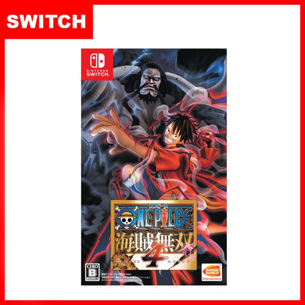 【現貨供應】NS Switch ONE PIECE 航海王:海賊無雙4 (國際版 支援中文)