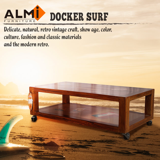 【ALMI】DOCKER SURF- COFFEE TABLE 活动咖啡桌