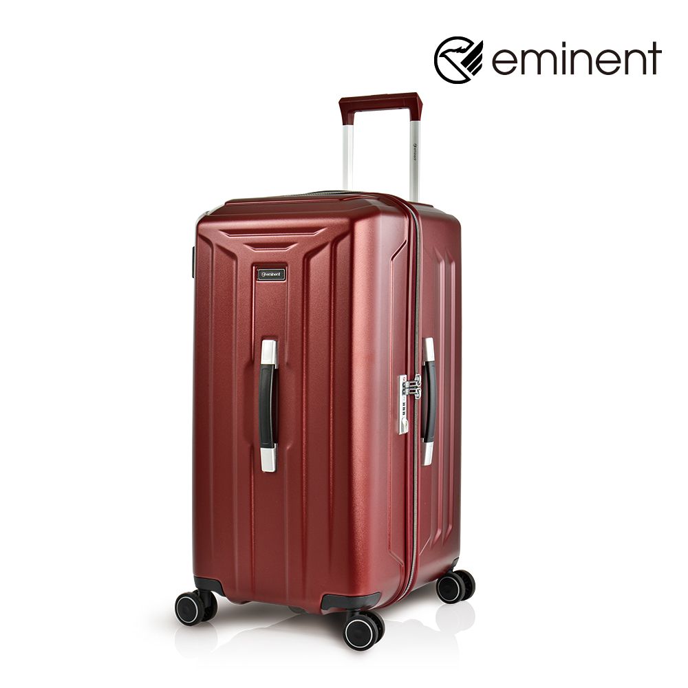 eminent【斯克斯II】极致无设限PC行李箱 26吋<亮银河红>KH04