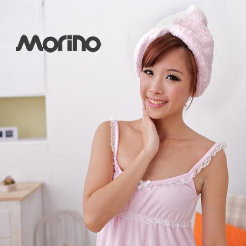 【MORINO摩力諾】超細纖維速乾浴帽-2入組