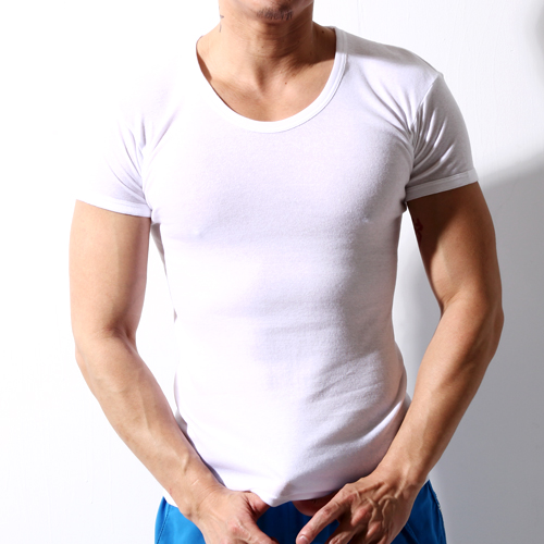 【TELITA】纯棉短袖V领衫-白(4件组)