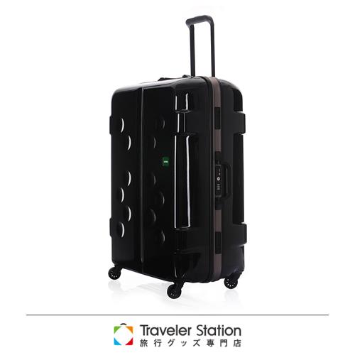 《Traveler Station》LOJEL 31吋CARAPACE铝框拉杆箱-黑色