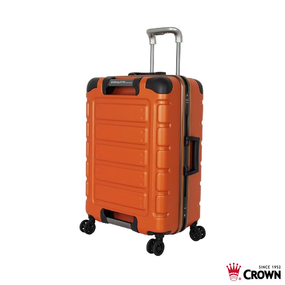 《Traveler Station》CROWN 皇冠 旅行箱 C-FE258 悍马 铝框行李箱 30吋 三色任选