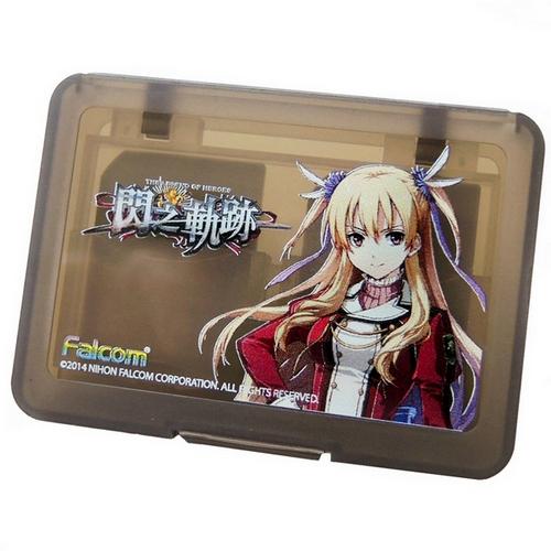 【官方授權】PS Vita 閃之軌跡限定-遊戲片/記憶卡收納盒(WL-SNK-01)