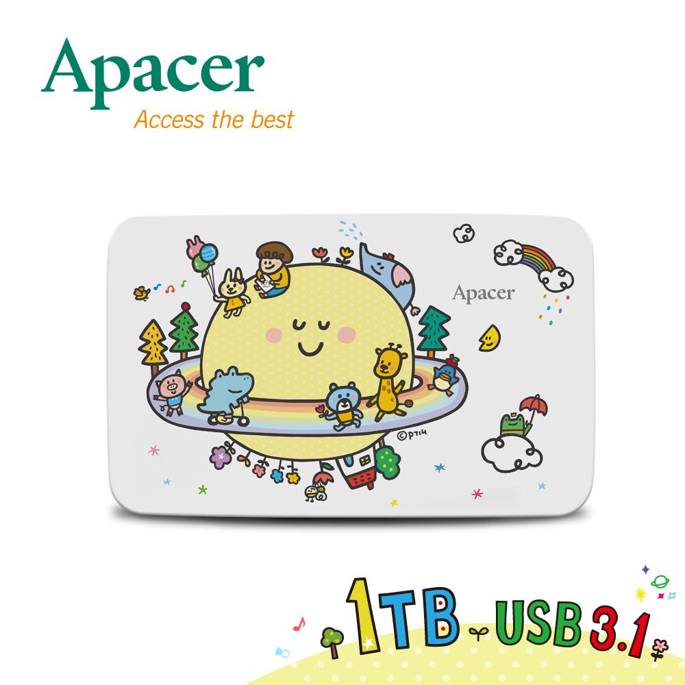 【限时下杀↘】Apacer宇瞻 AC233 1TB'P714星球'联名款行动硬盘