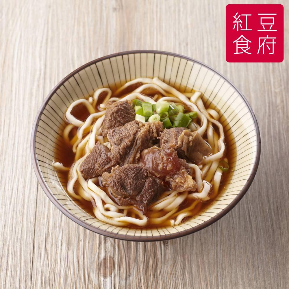 《红豆食府SH》红烧牛肉面(500g/份,共两盒)