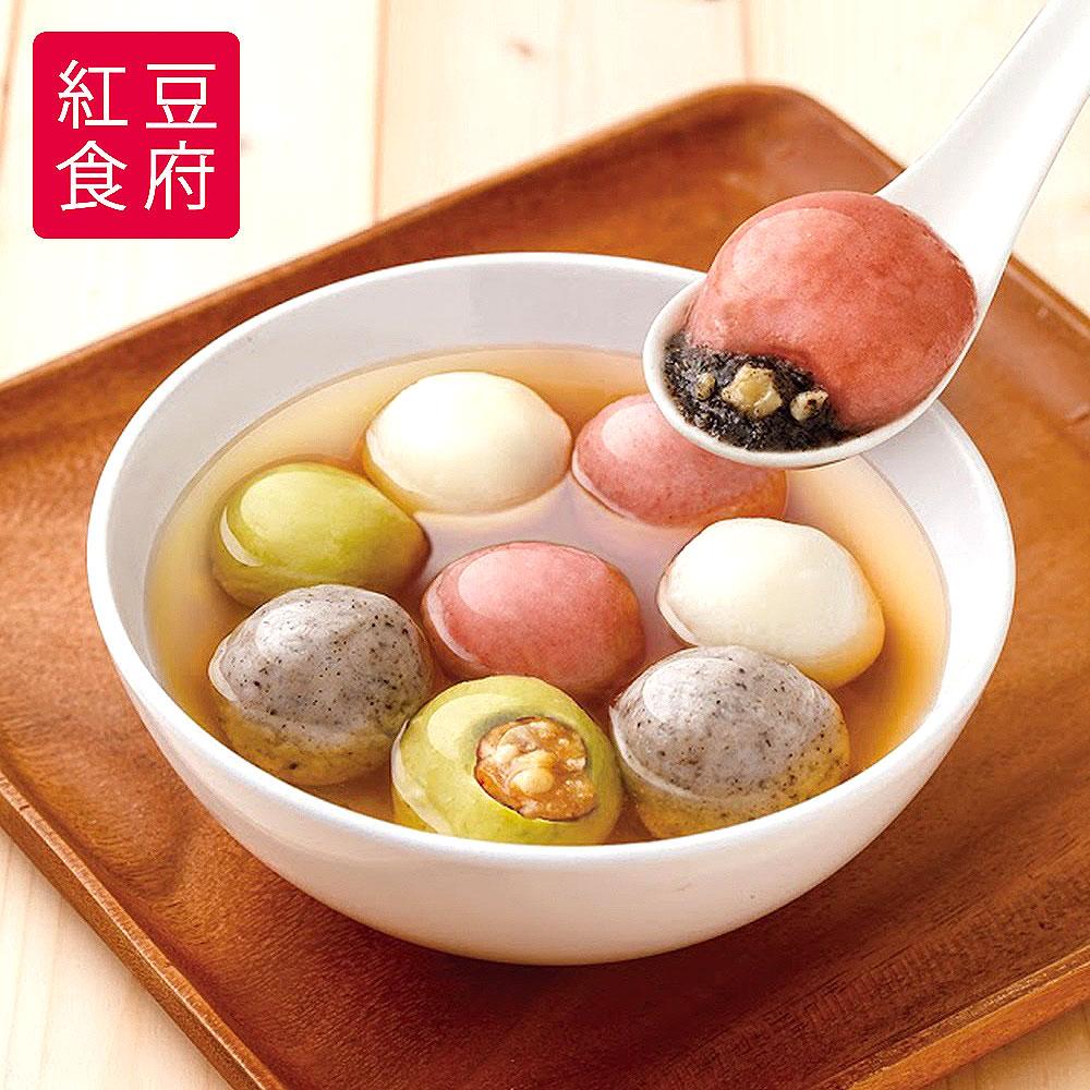 2018春節預購《紅豆食府SH》鴻運四喜湯圓(10顆/盒,共2盒)