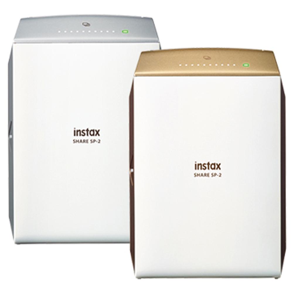 送一盒底片+束口袋 FUJIFILM instax SHARE SP-2印相機  (公司貨)