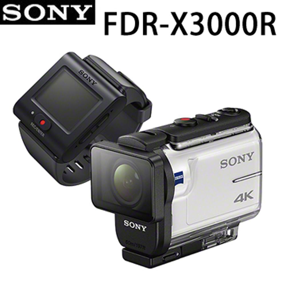 64G全配組*SONY 4K運動攝影機 FDR-X3000R (公司貨)