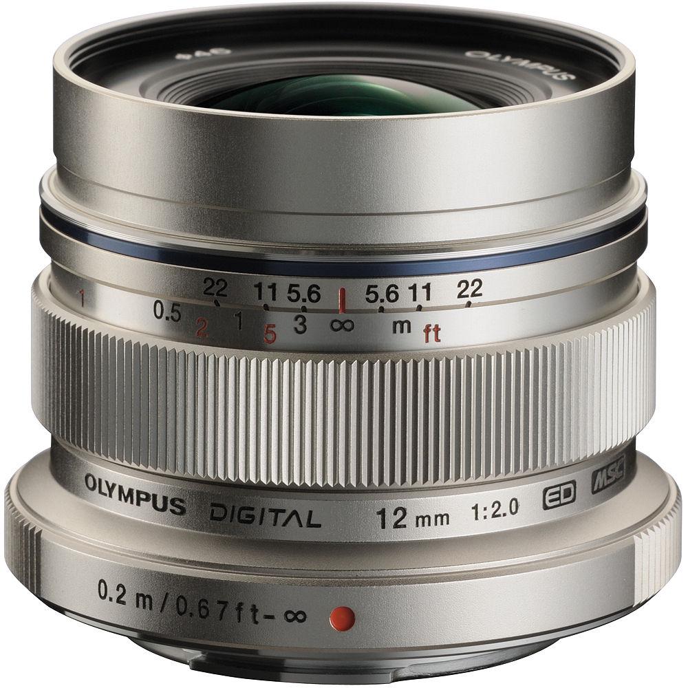 贈UV★ OLYMPUS M.ZUIKO DIGITAL ED 12mm F2.0銀