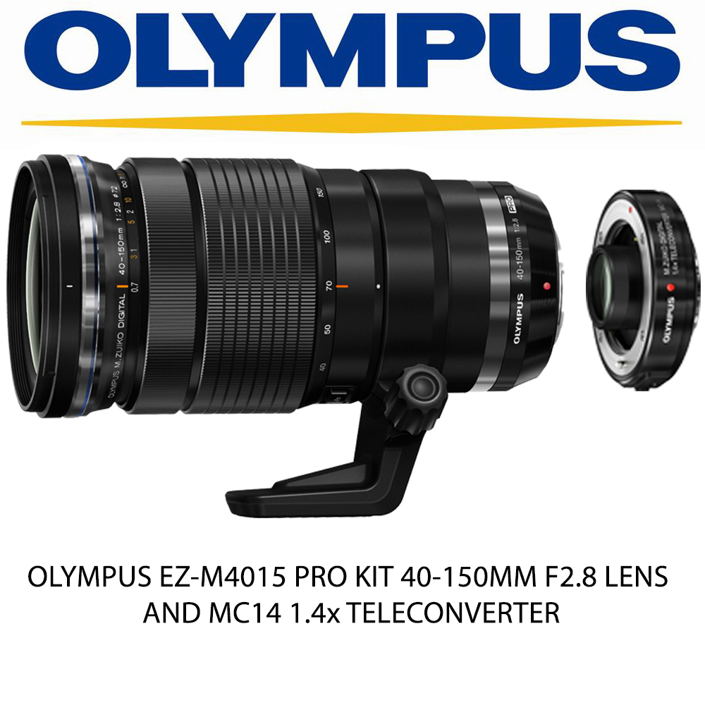 OLYMPUS M.ZUIKO DIGITAL ED 40-150mm F2.8 PRO + MC-14增距鏡 (公司貨)