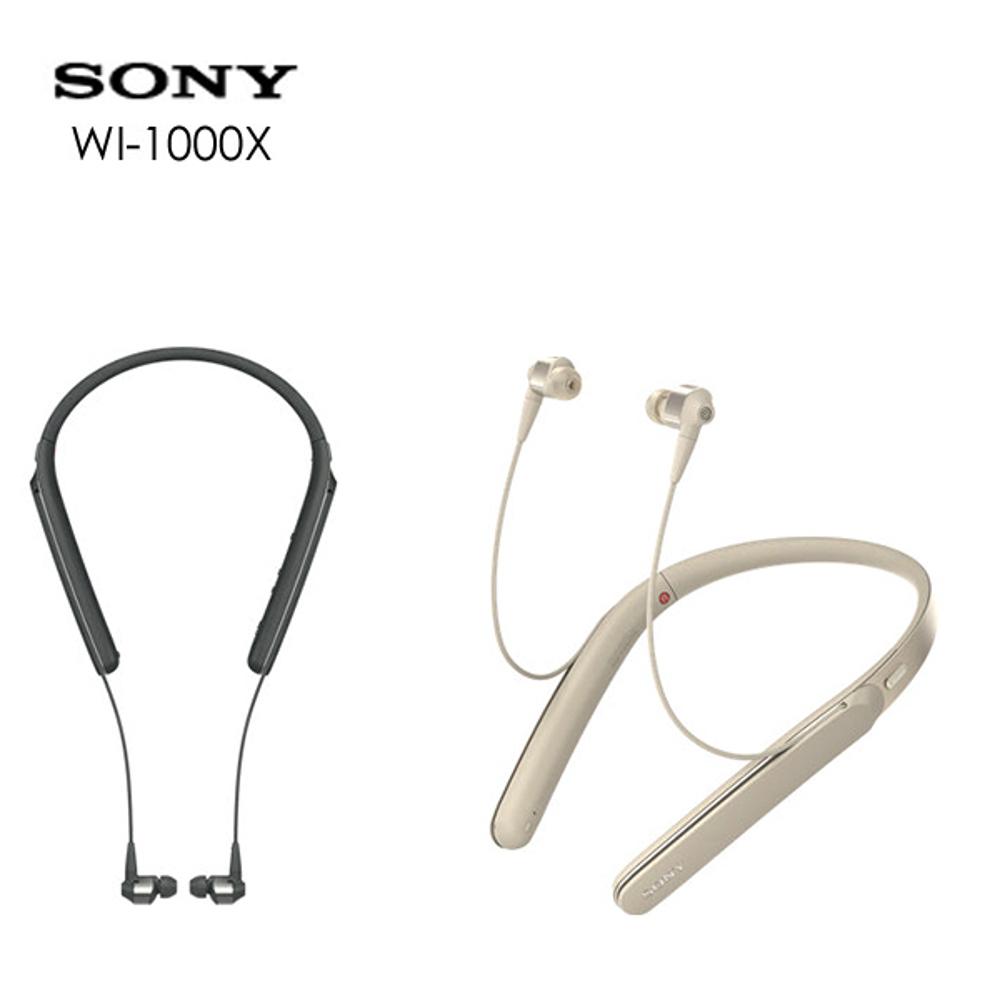 SONY WI-1000X 无线降噪颈挂入耳式机 ★(公司货)★10 小时续航
