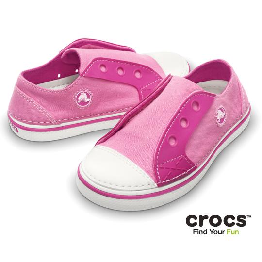 【Crocs】童- 皓翔輕便童鞋 (鶴紅/桃紅色)