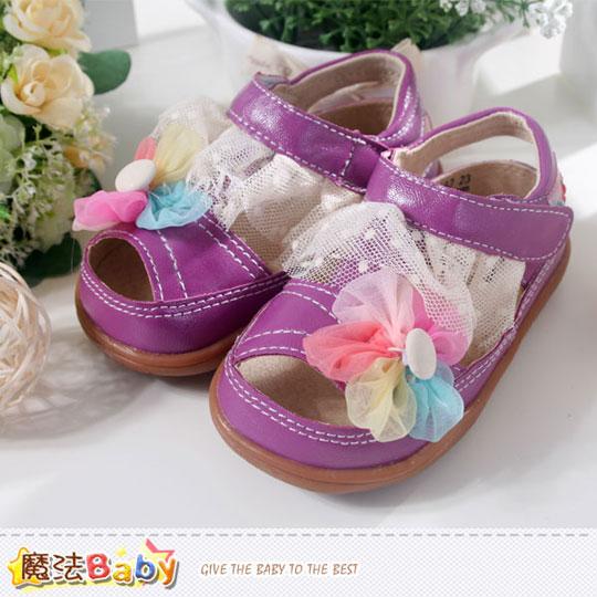 女童涼鞋~魔法Baby~sh3652