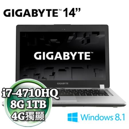 技嘉P34GV2-I7-4710/860 2G
