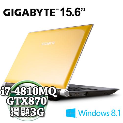 技嘉P25WV2-I7-4810/16G