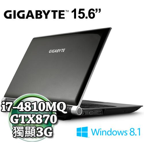 技嘉P25WV2- i7-4810/15.6吋/GTX870