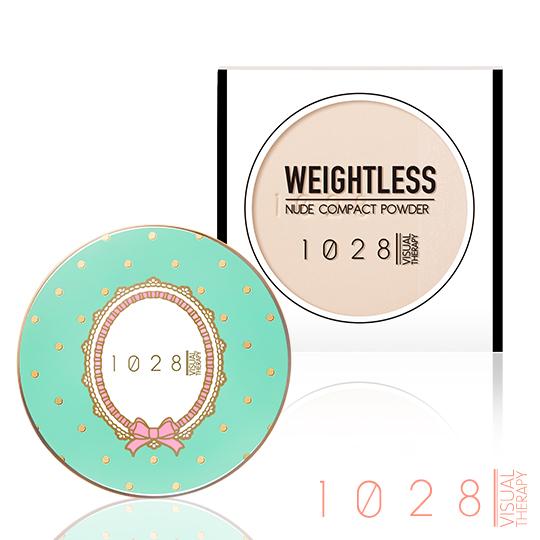 【02粉陶色】1028雪絨裸光粉餅+蝴蝶結甜心粉漾盒(02限量藍)