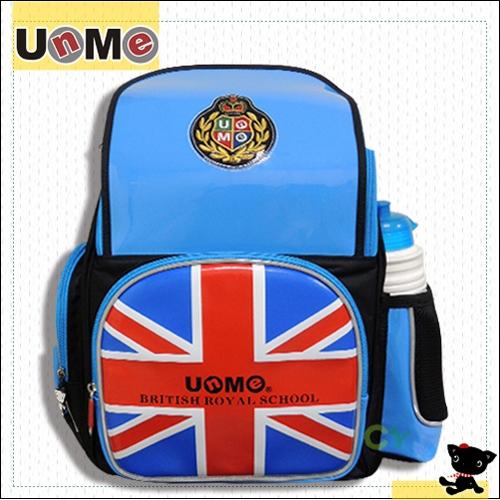 【UnMe】學院英格風後背書包 / 天空藍_ 天空藍
