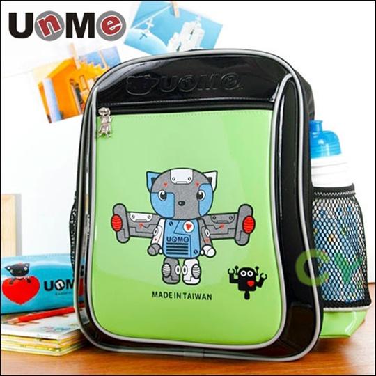 【UnMe】機器人率性輕量後背書包╱綠色_綠色