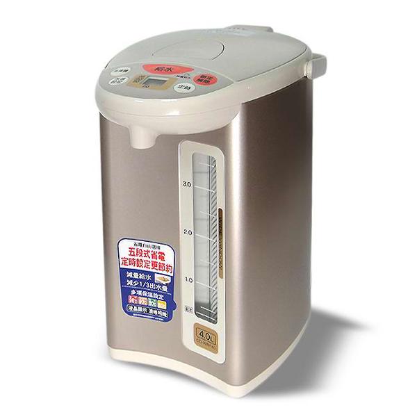 象印4段定溫電動熱水瓶 4公升CD-WBF40
