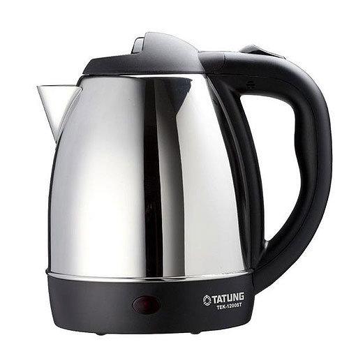 大同1.2公升不鏽鋼電茶壺TEK-1200ST