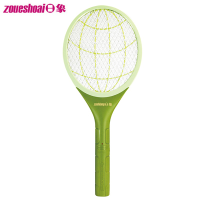 日象特極旋威電蚊拍(電池式特大拍) ZOM-2466