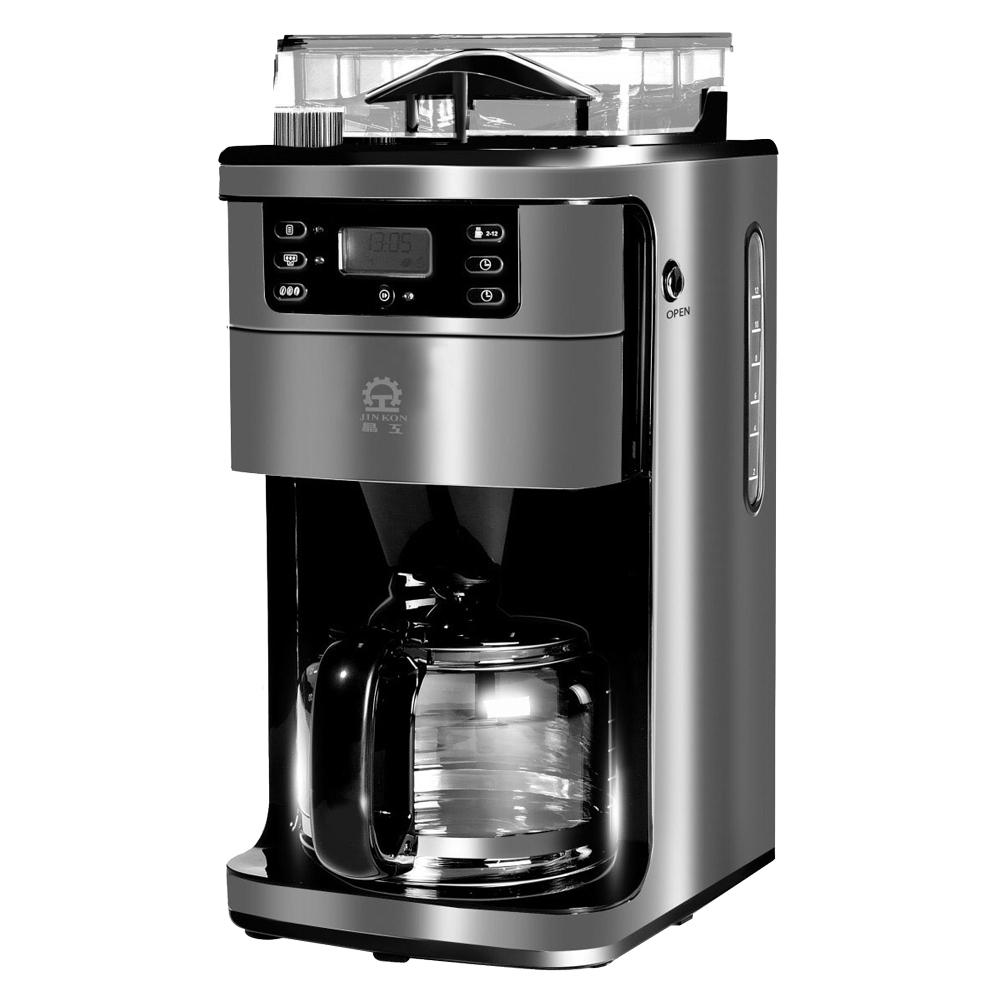 晶工全自动研磨美式咖啡壶 JK-996