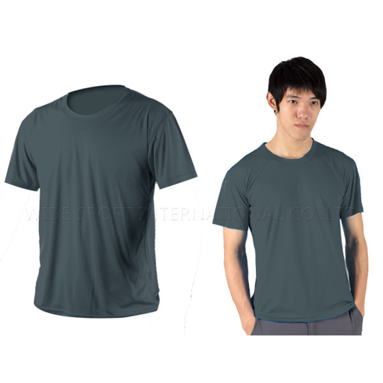 INSTAR 男女凉感短T恤-0秒吸排抗UV轻量吸湿排汗 铁灰@3103911@