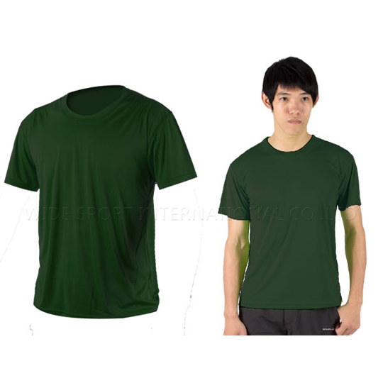 INSTAR 男女凉感短T恤-0秒吸排抗UV轻量吸湿排汗 军绿@3103912@