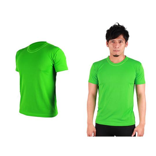 HODARLA FLARE 100 男女短袖T恤 吸湿排汗透气 台湾制 翠绿@3108307@
