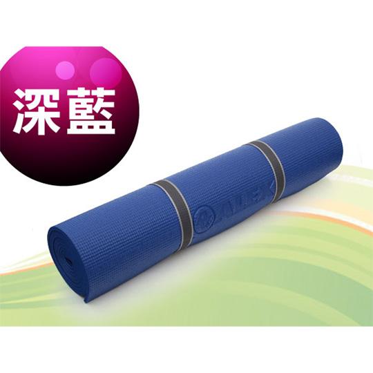 ALEX 瑜珈墊-有氧 塑身 地墊 深藍@C-1803-1@