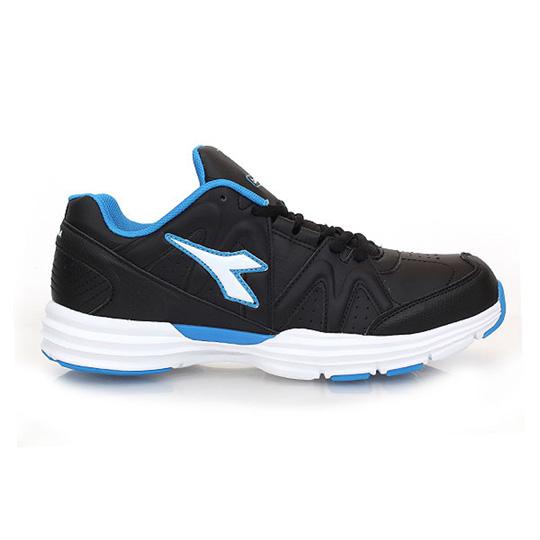 DIADORA 男慢跑鞋 寬楦-運動鞋 休閒鞋 黑藍白@DA4AMR9810@