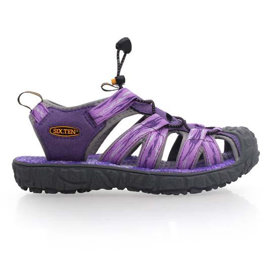 SOFO 女护趾凉鞋-休闲凉鞋 拖鞋 紫@W81007@