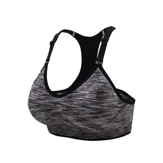INSTAR 細肩帶女運動內衣-運動BAR 背心 韻律 有氧 瑜珈 比基尼 黑白@3115602@