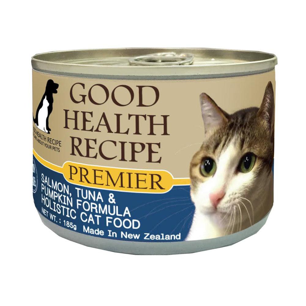 ~GHR健康主義~貓用無榖主食罐~魚肉 南瓜配方175g~6入組