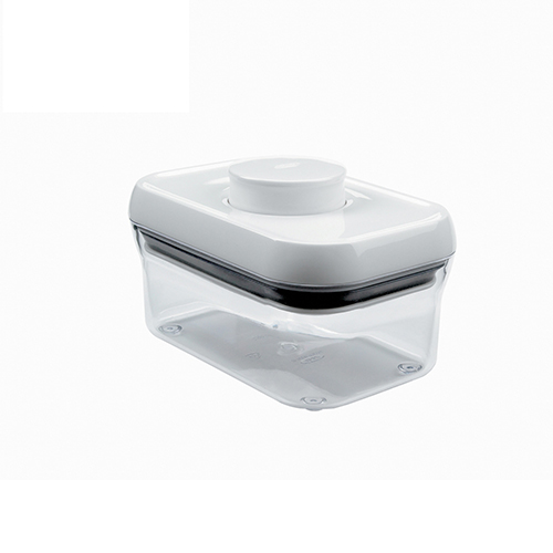【OXO專業餐廚用品】POP 保鮮收納盒 (白色正方 900ml)