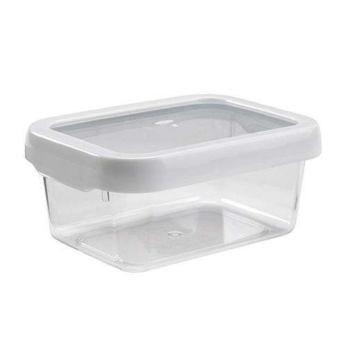 【OXO專業餐廚用品】 LockTop 密封保鮮盒 (白 900ml)*4個