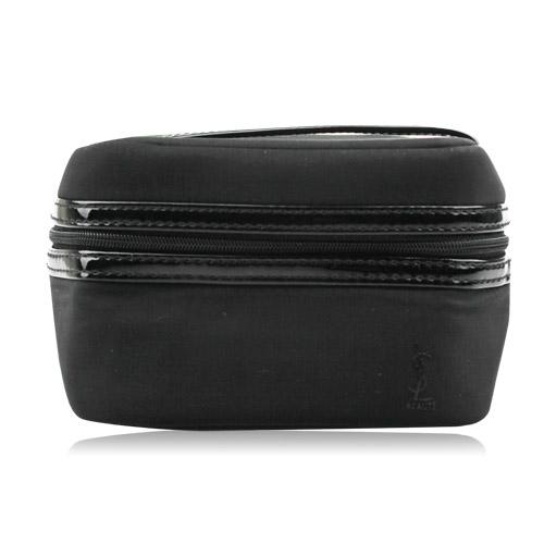 YSL 時尚漆皮手提化妝包-小(12x9x9cm)
