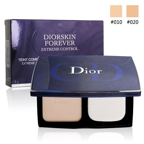 Dior 迪奧 光柔恆色無瑕絲柔粉餅SPF20 PA++(8g)兩色可選-附粉盒