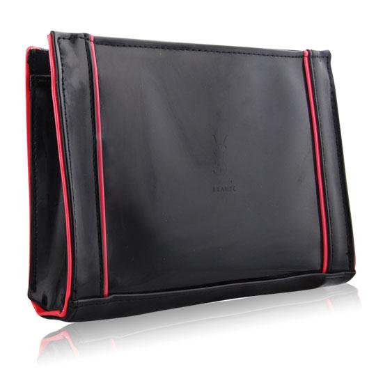 YSL 黑桃紅時尚手拿包