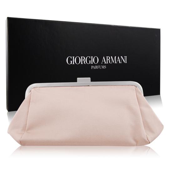 GIORGIO ARMANI GA晚宴包-灰(20x8x12cm)