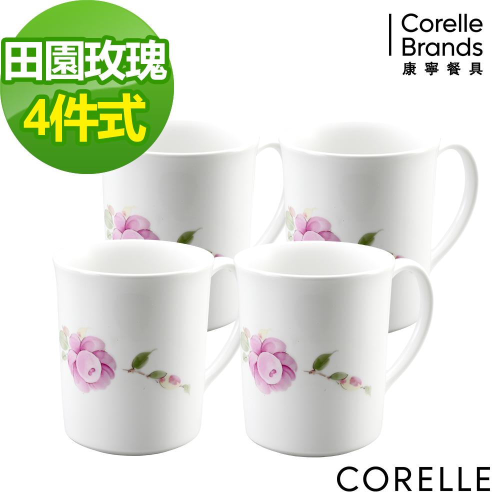 CORELLE 康寧田園玫瑰馬克杯組-D05