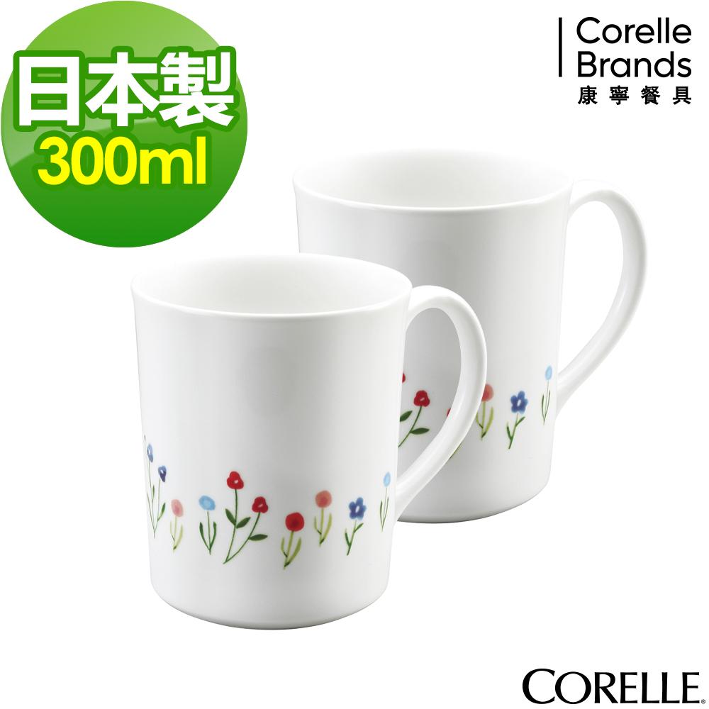 CORELLE康寧春漾花朵馬克杯組(B01)
