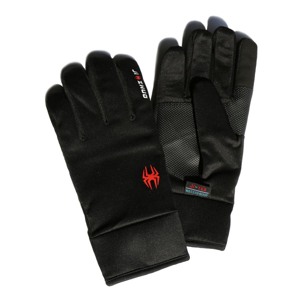 觸控保暖防水手套 - 黑色-M