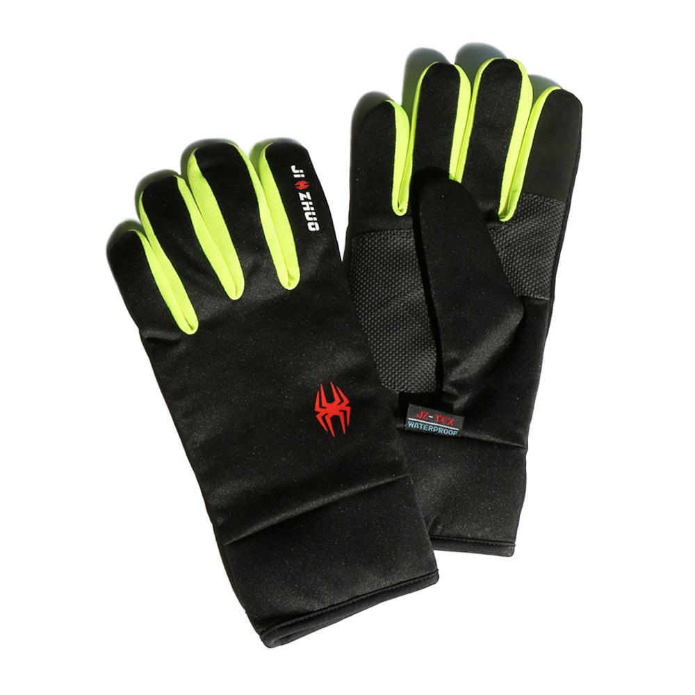 觸控保暖防水手套 - 黃色(XS)