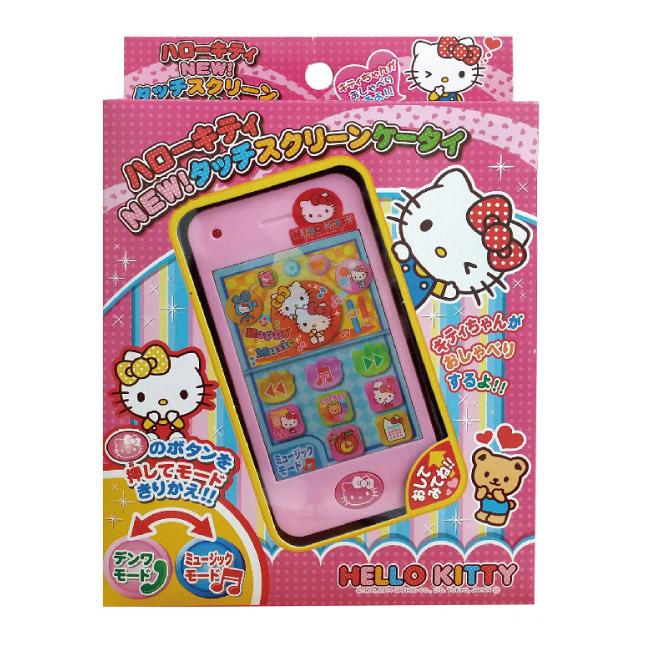 【BabyTiger虎兒寶】HELLO KITTY 觸控螢幕玩具手機