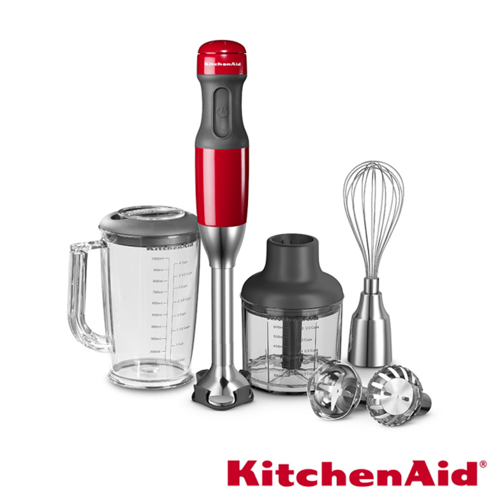 【美國KitchenAid】持料理棒專業版(經典紅) KHB2569 KHB2569ER (原廠公司貨)