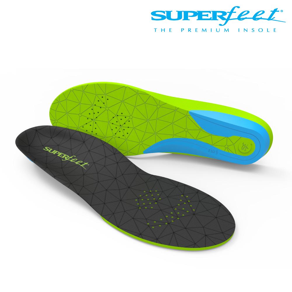 【美国SUPERfeet】运动加厚弹性鞋垫