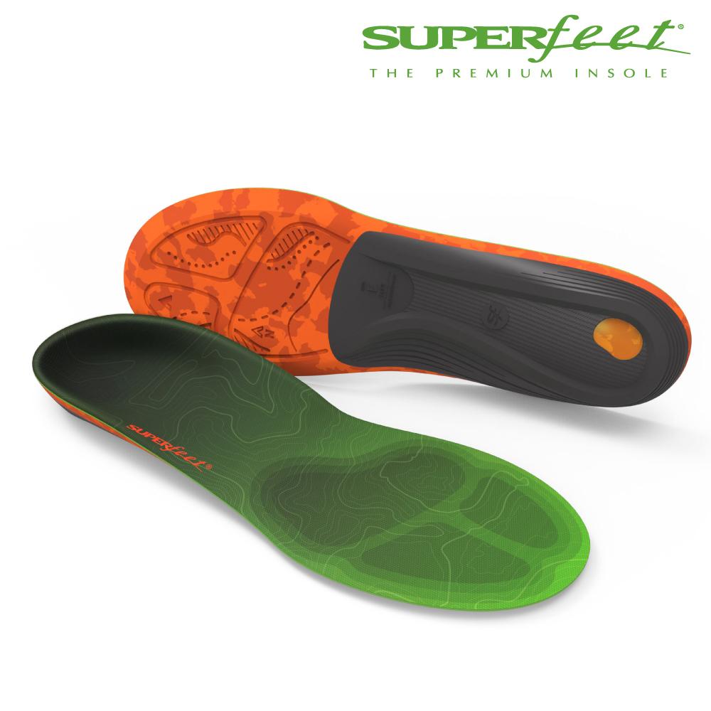 【美国SUPERfeet】碳纤维健行鞋垫 – 青绿色